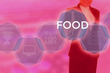 FOOD - technology and business concept