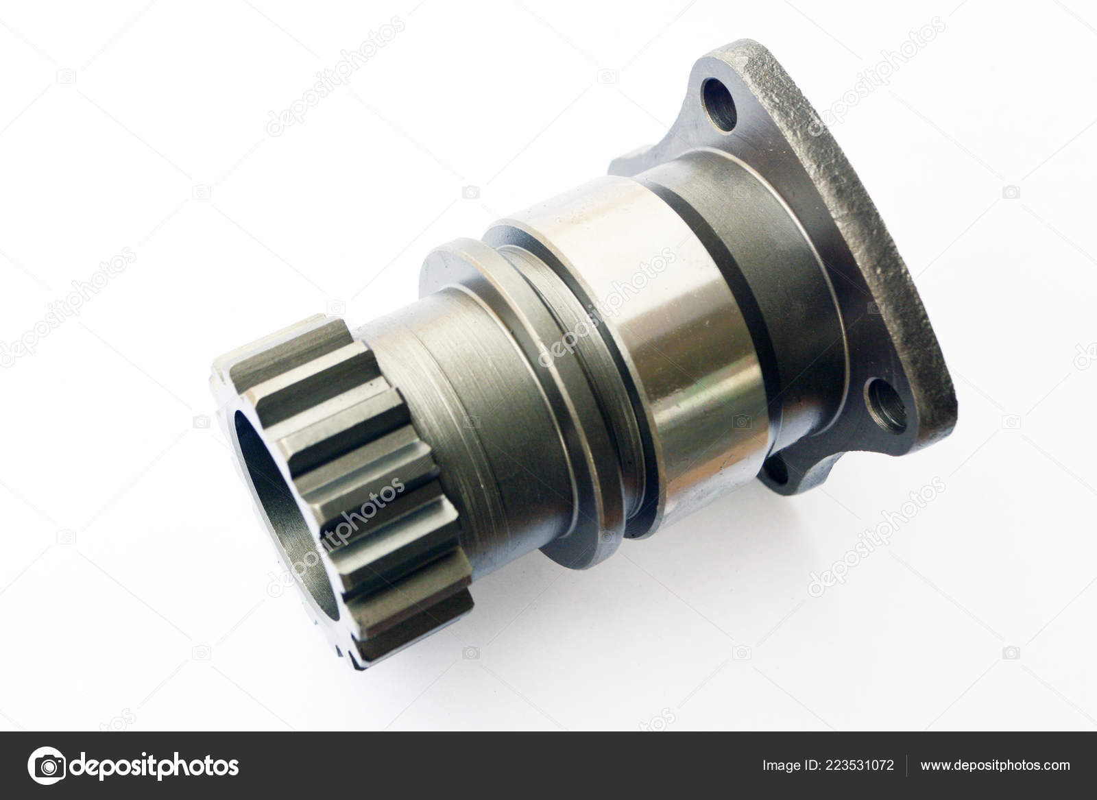 Tractor propeller shaft intermediate support — Stock Photo