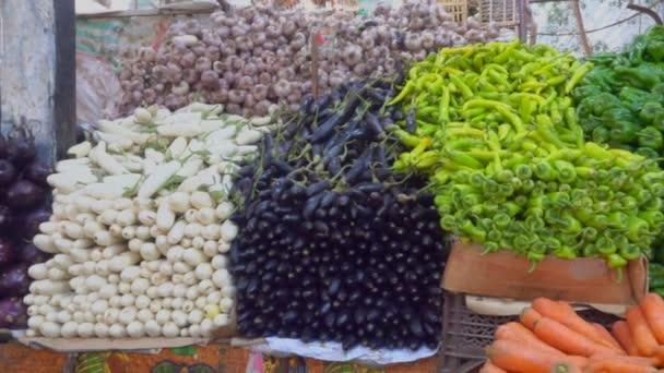 Krásně showcase v zeleninovém trhu