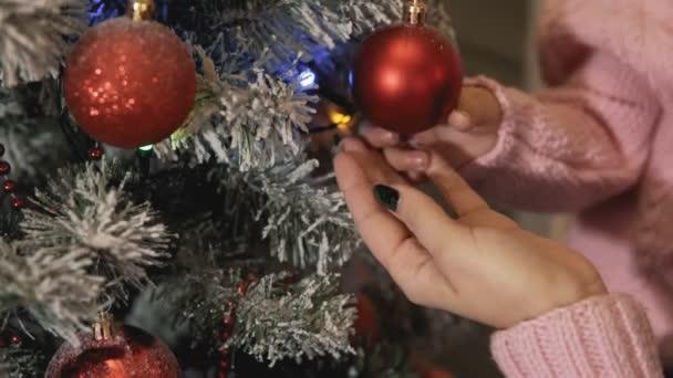 balls fun red beautiful celebration christmas