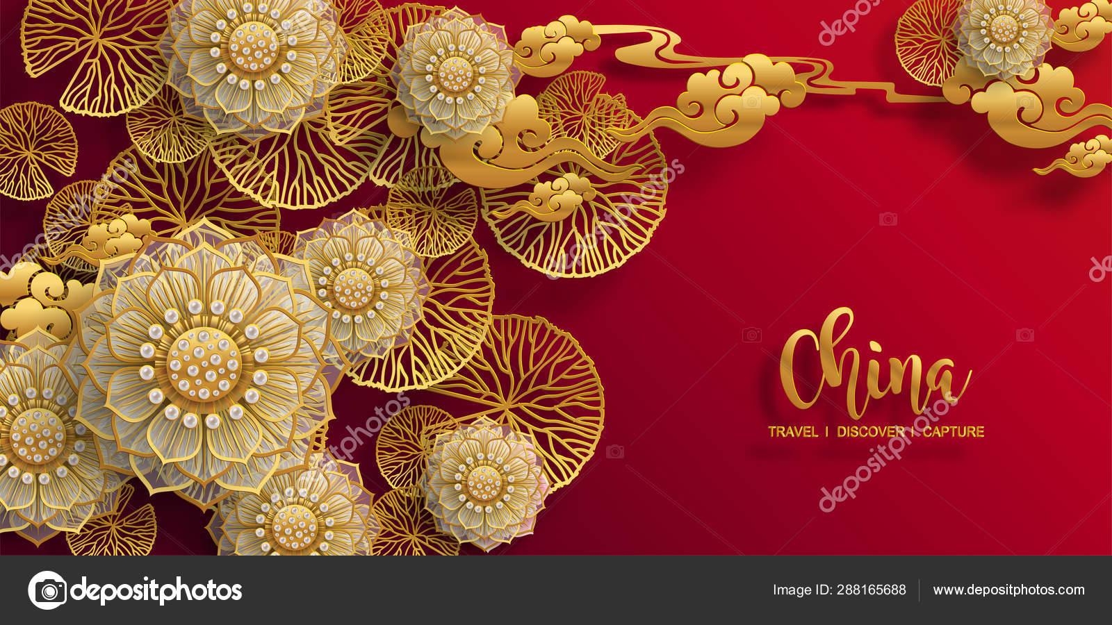 Chinese Oriental Wedding Invitation Card Templates Beautiful