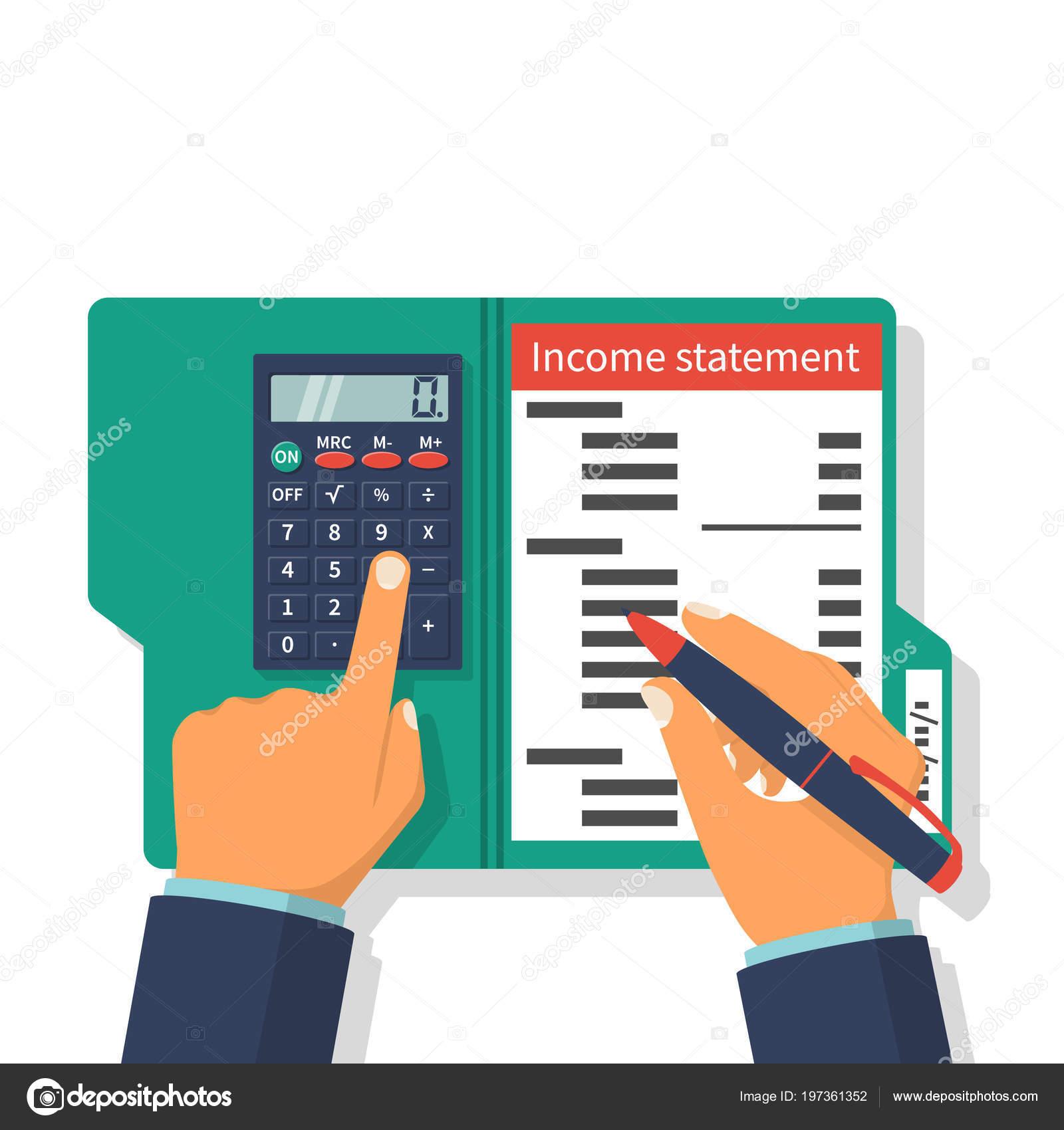 Declaración de la renta. Contabilidad Finanzas — Archivo Imágenes ...