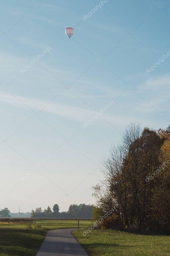 Flying Air Balloon - Bavaria, Germany