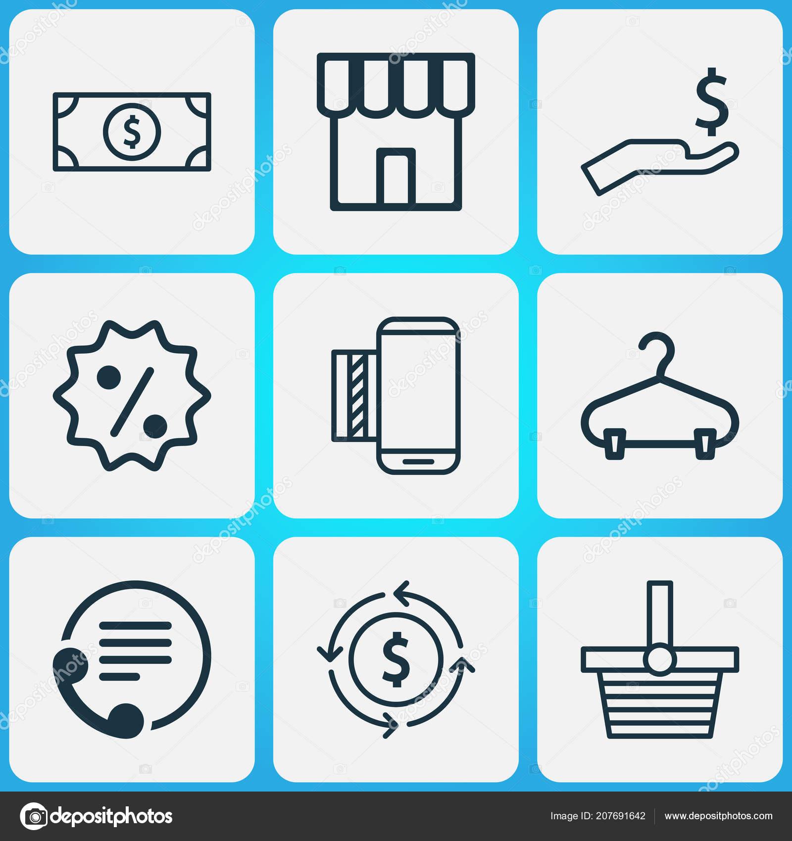 E-commerce εικονίδια με το σήμα πώλησης 5bf7dcd4de3