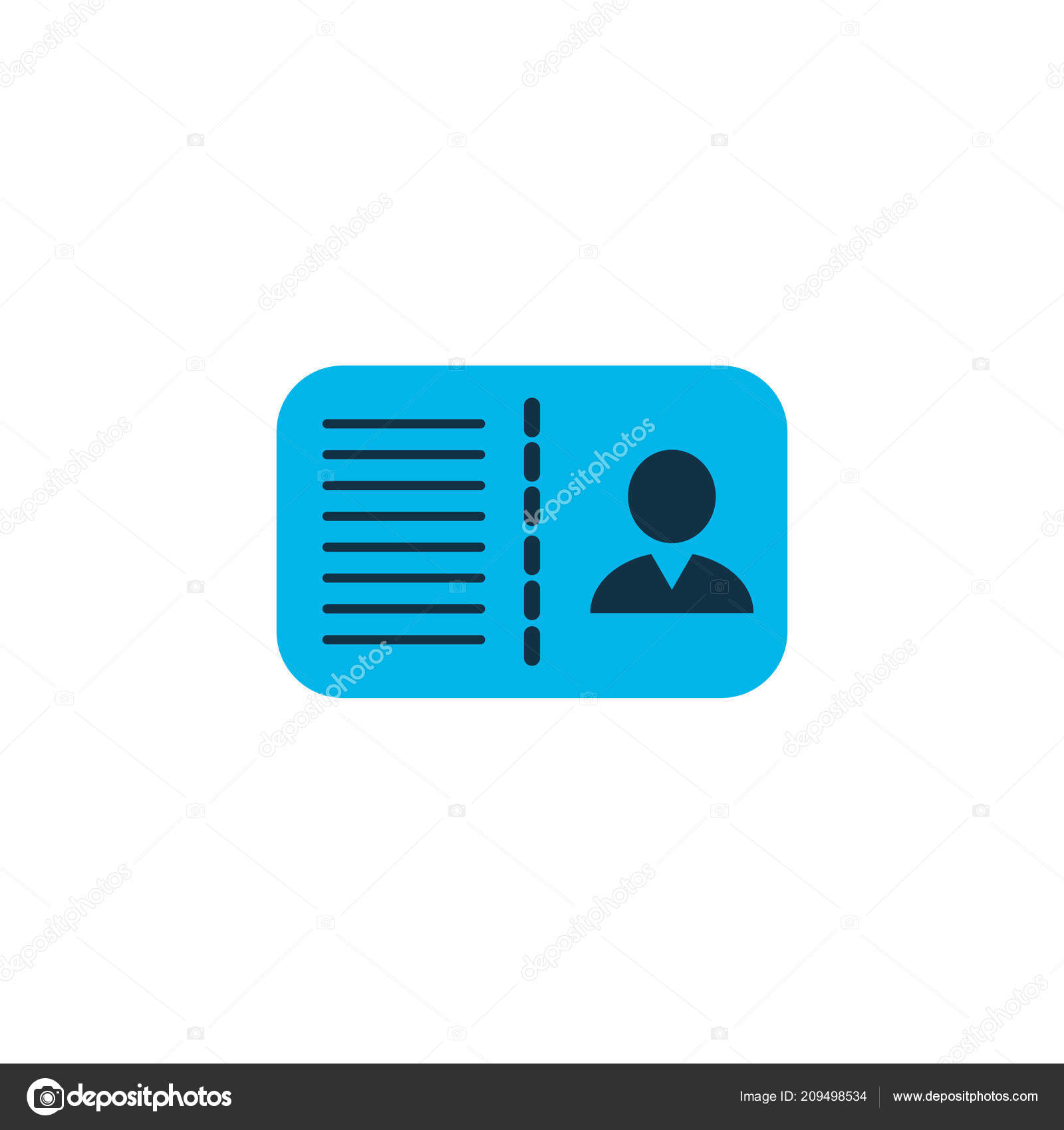 Certification Icon Colored Symbol Premium Quality Isolated