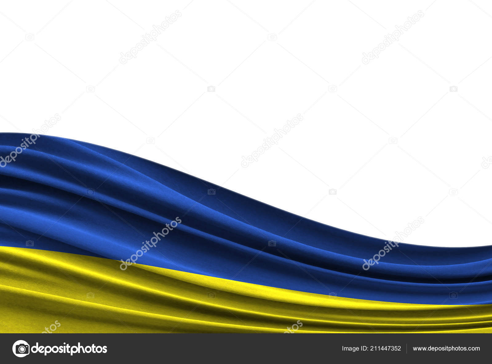 Flag Of Ukraine Isolated On White Background Stockfoto Master 18 An Electrical Wire With Pipe And