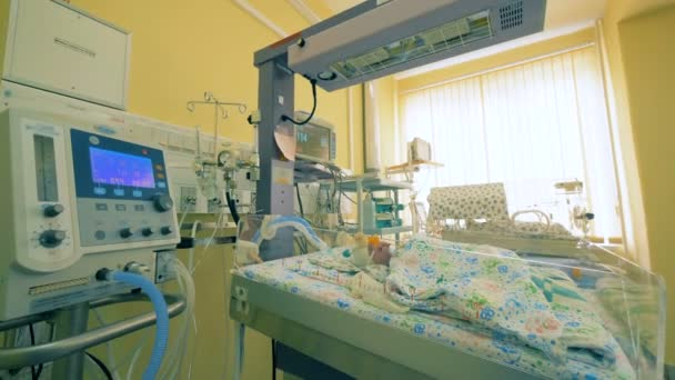 Hospital nursery unit for newborn babies