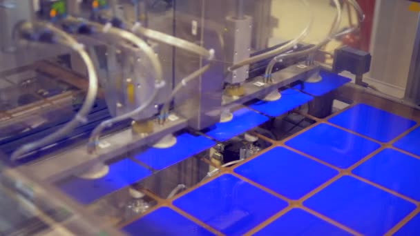 Factory mechanism is displacing solar cells from a stencil plate
