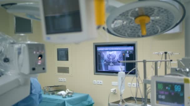 Functioning medical equipment in an operating room