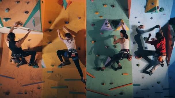 Profi hegymászók edzéstervek, közelről.