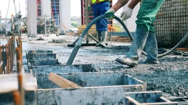 Бетон видио введение строительных растворов