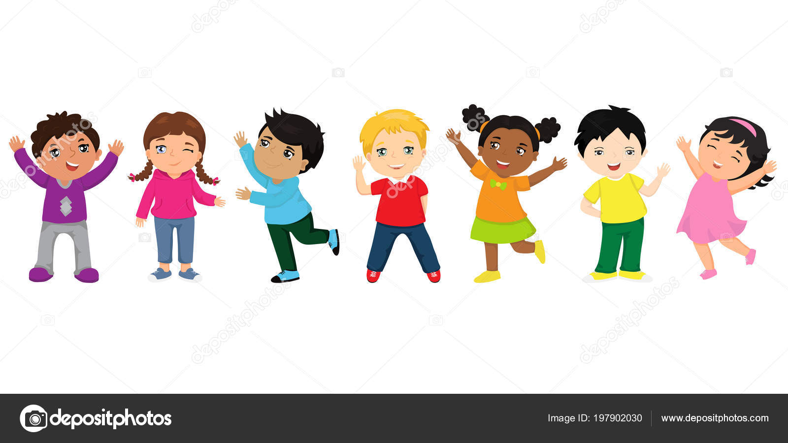 Para Niños De Dibujos Animados Caras Diferentes: Imágenes: Animadas De Niños Diferentes