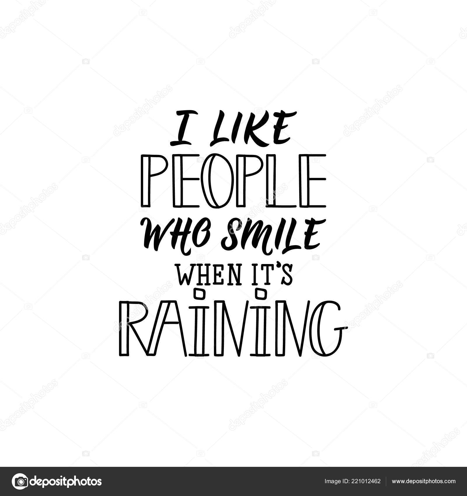 Pics: funny rain with captions   People Who Smile Its ...