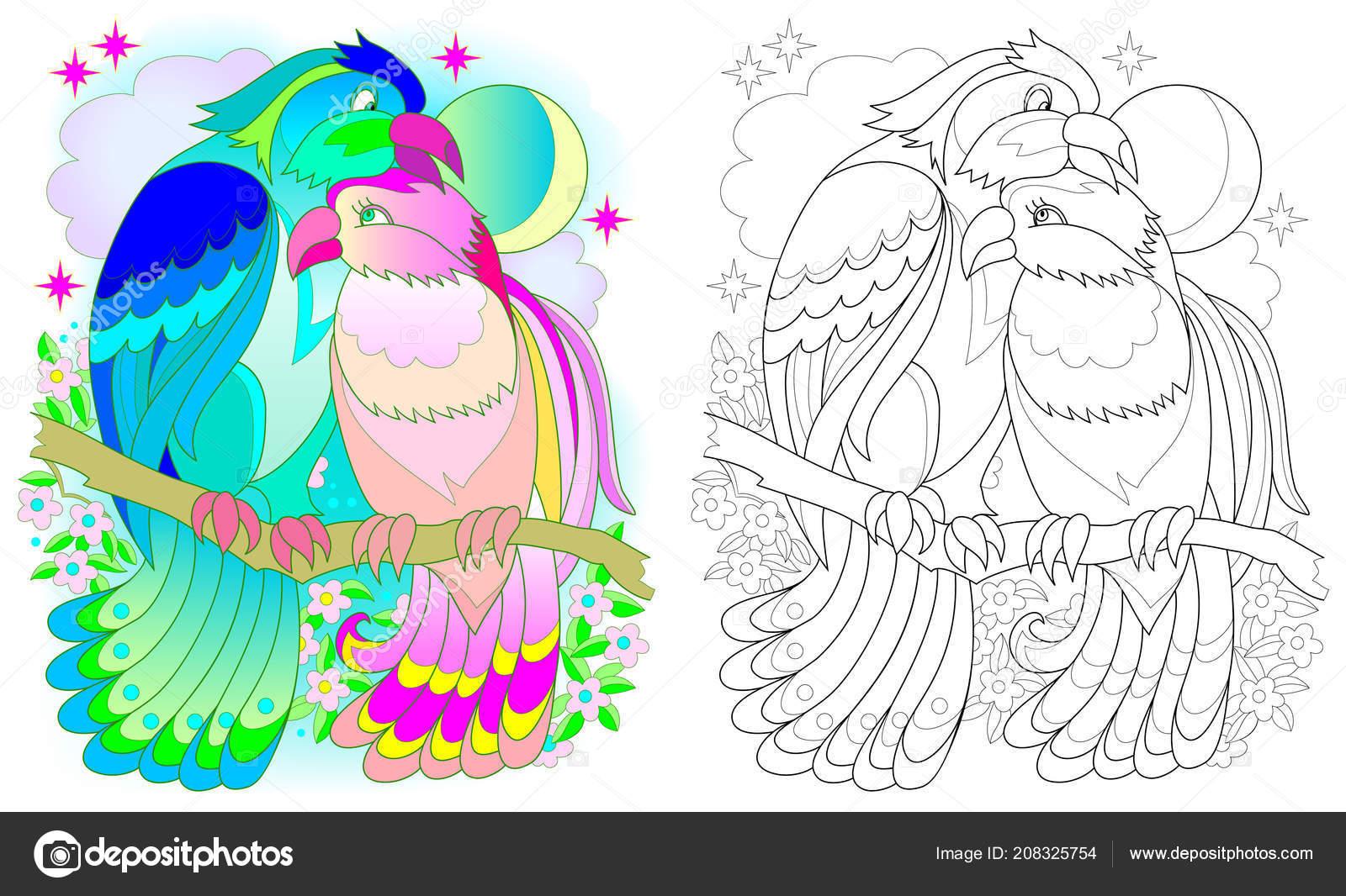 Padrão Colorido Preto Branco Para Colorir Fantasia Desenho