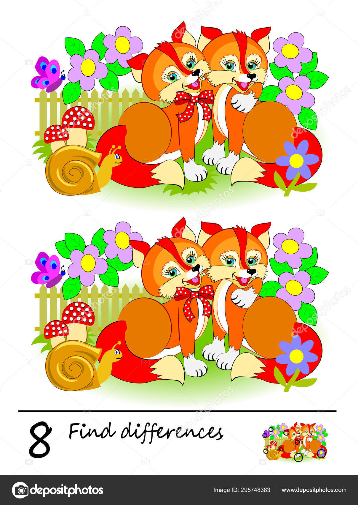 This is a graphic of Find the Difference Printable regarding family themed
