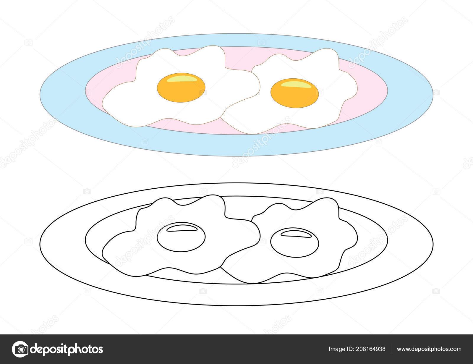 Bacon and Eggs Sketch Stock Vectors, Images & Vector Art | Shutterstock | 1231x1600