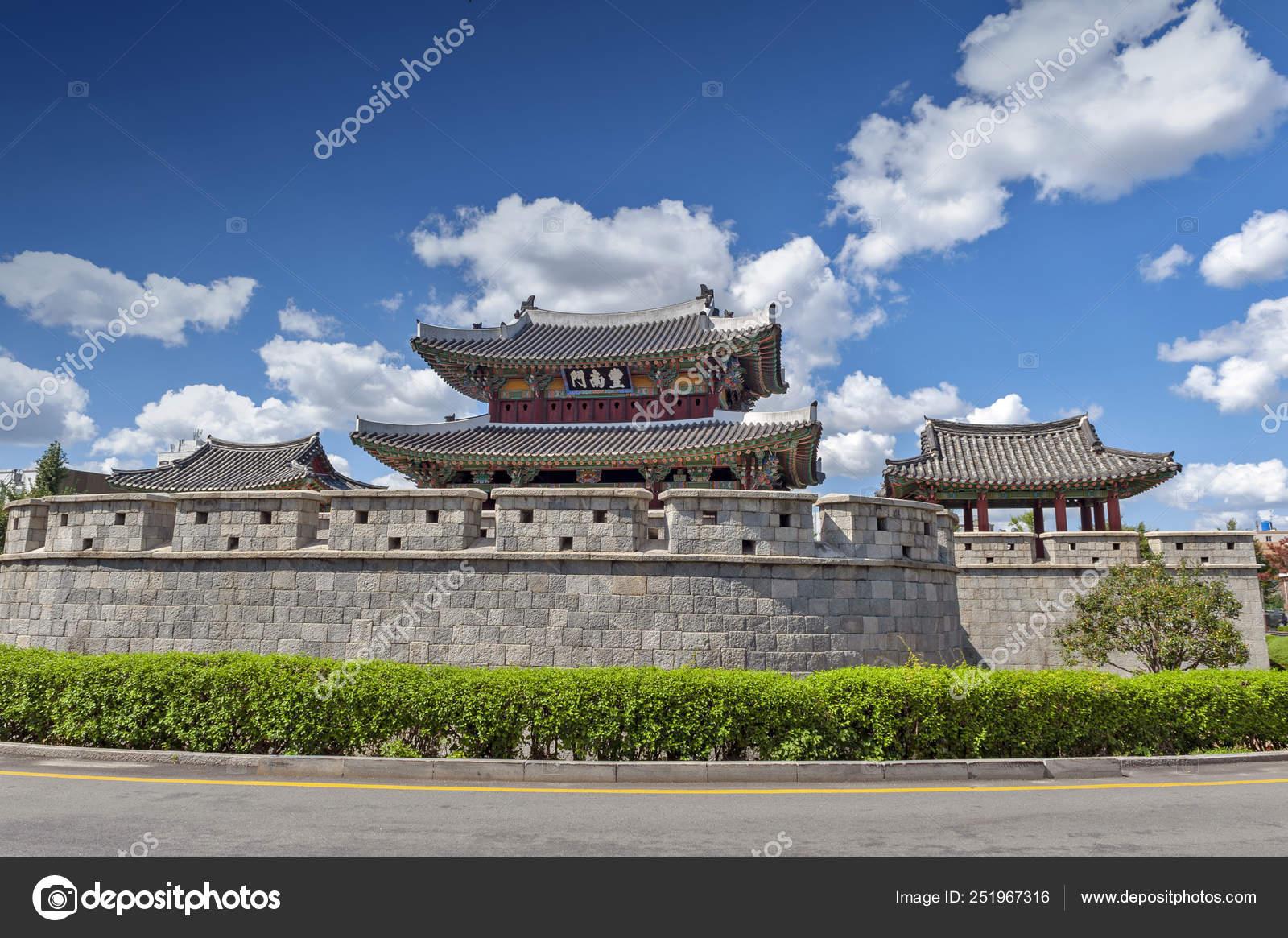 City Of South Gate >> Pungnammun Gate South Gate City Wall Jeonju Remaining Joseon