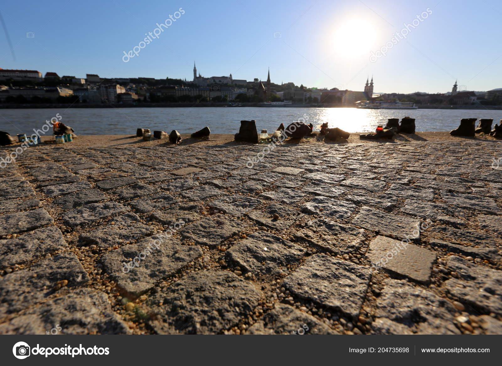 Shoes Embankment Danube Memorial Memory Victims Holocaust