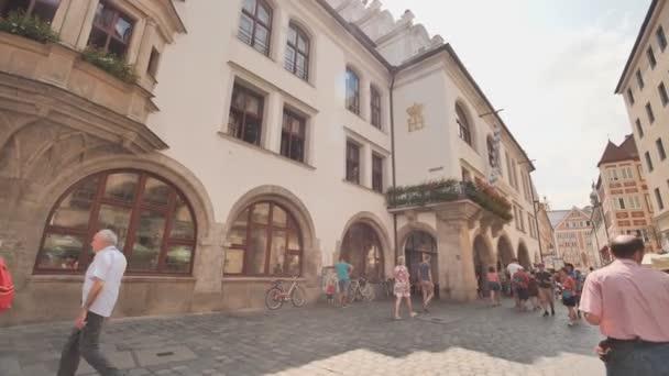 München, Deutschland - 5. August 2018: Das Hofbrauhaus im historischen Stadtzentrum von München