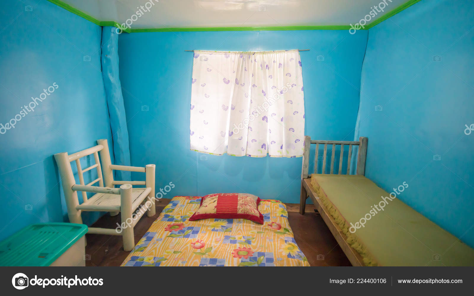 Filipino House Interior Design The Room In The Philippine House Is Rented Out For Foreigners Stock Photo C Milk Records Bk Ru 224400106