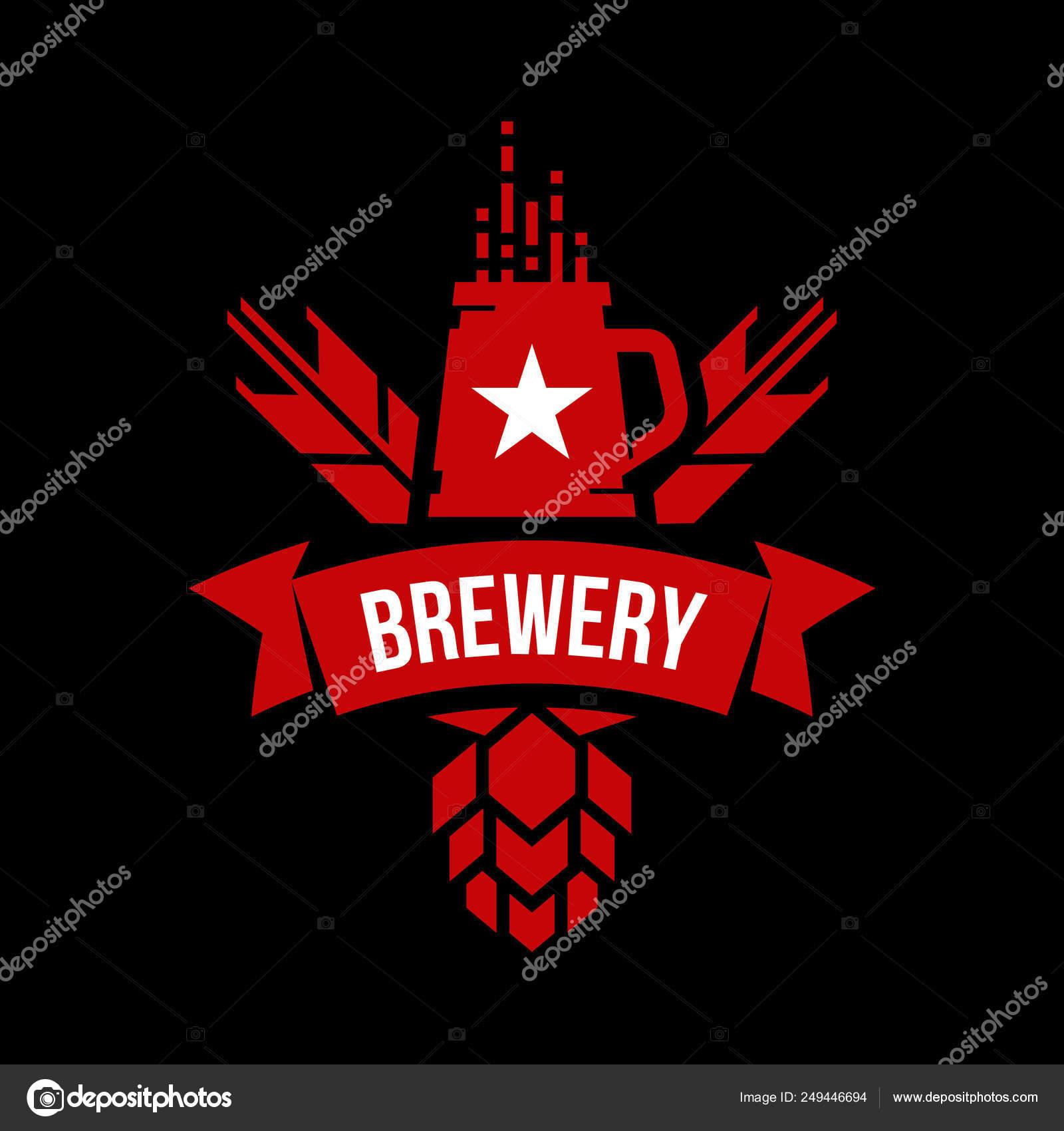 Moderna Redondo Cerveja Artesanal Bebida Logo Sinal Vector Para