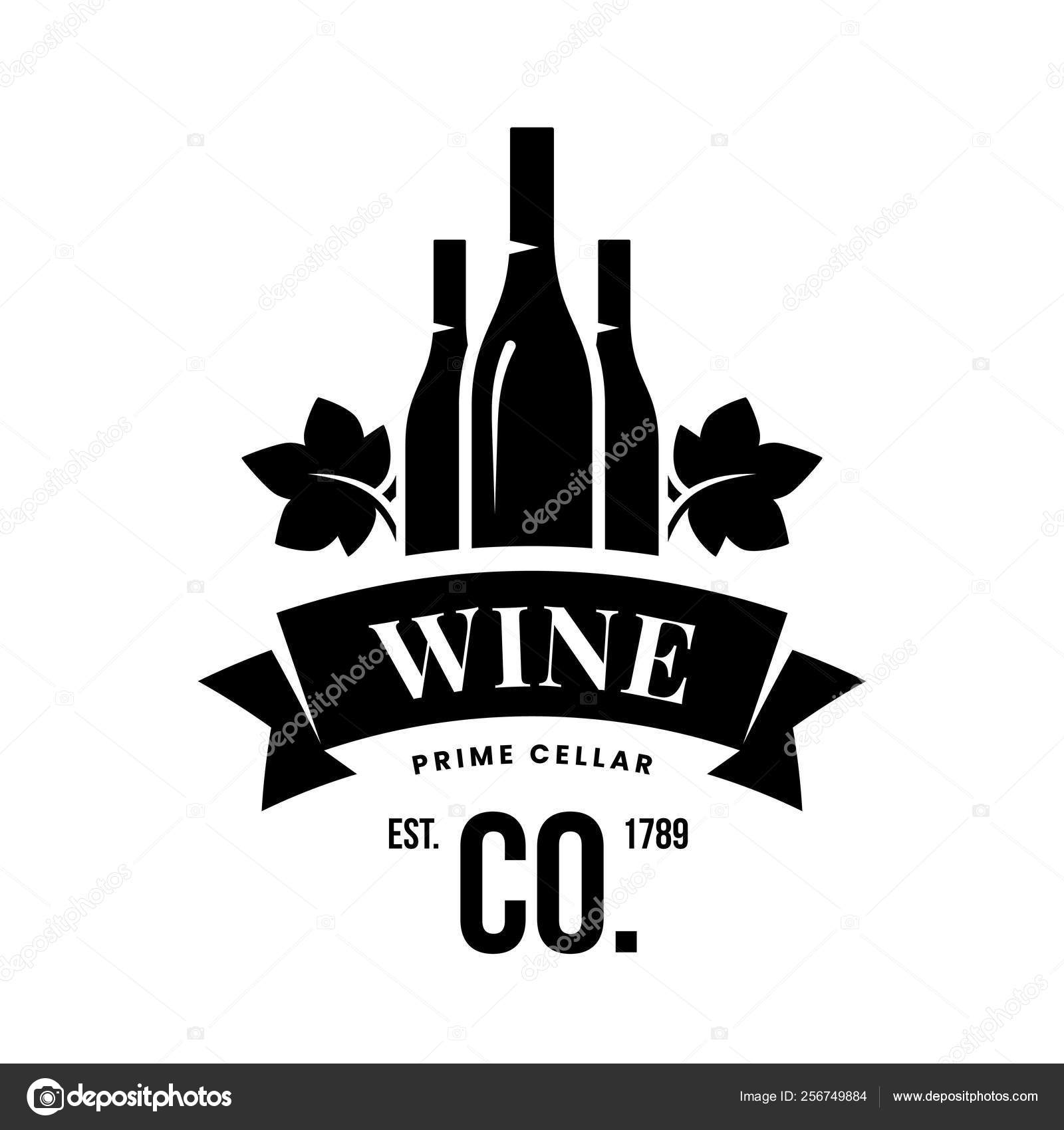 Modern Wine Vector Logo Sign Tavern Restaurant House Shop Store Stock Vector C Dream Vector Mail Gmail Com 256749884