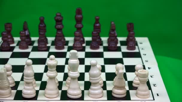 the player performs the first move with a white pawn for three squares ahead