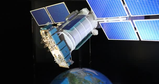 The model of the communication support satellite
