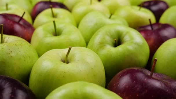 Apples Fresh nature background. Natural Apple harvest from tree. Grocery store, department of fruits and vegetables.