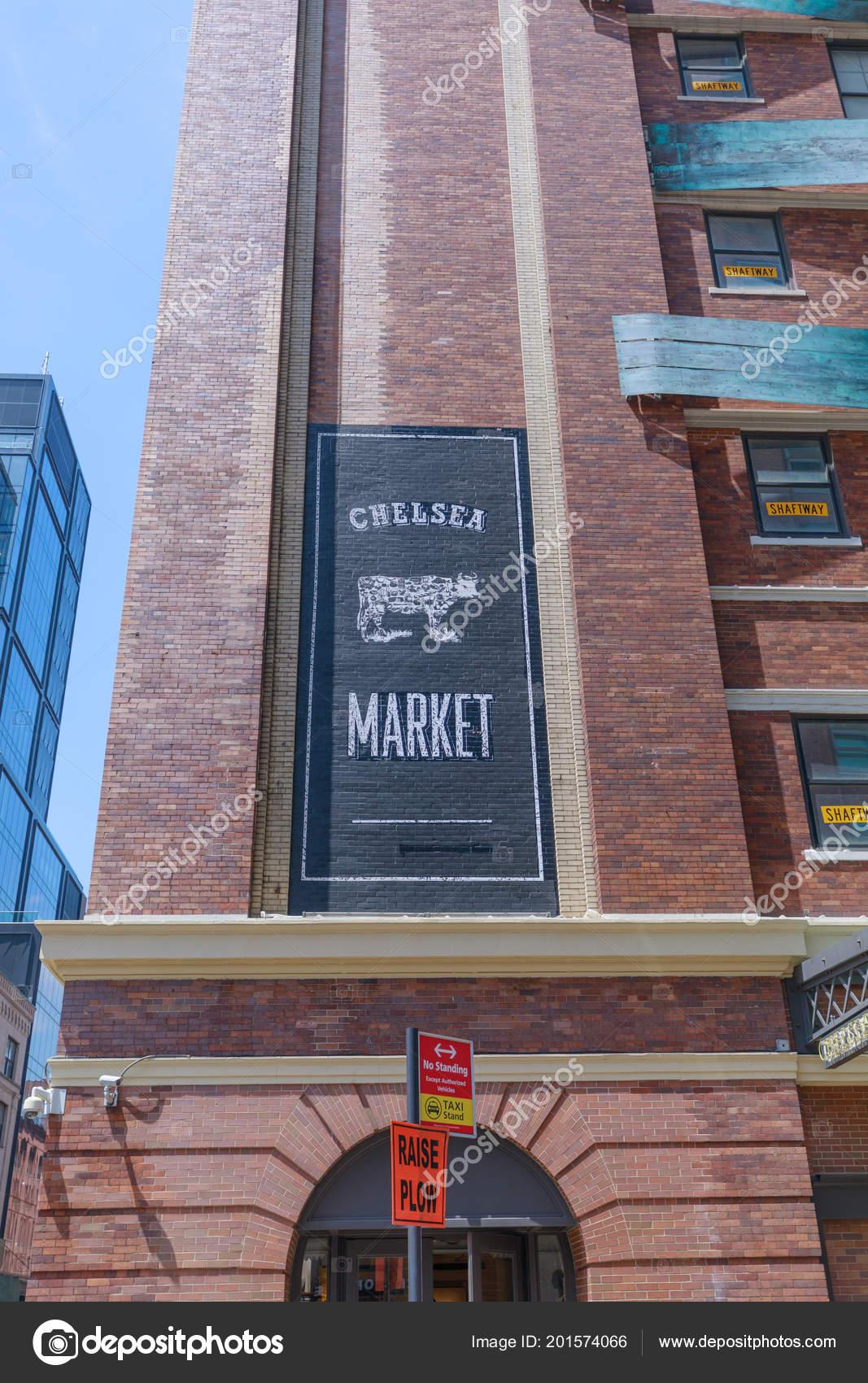 Manhattan New York City May 2018 Nyc Landmark Chelsea Market – Stock