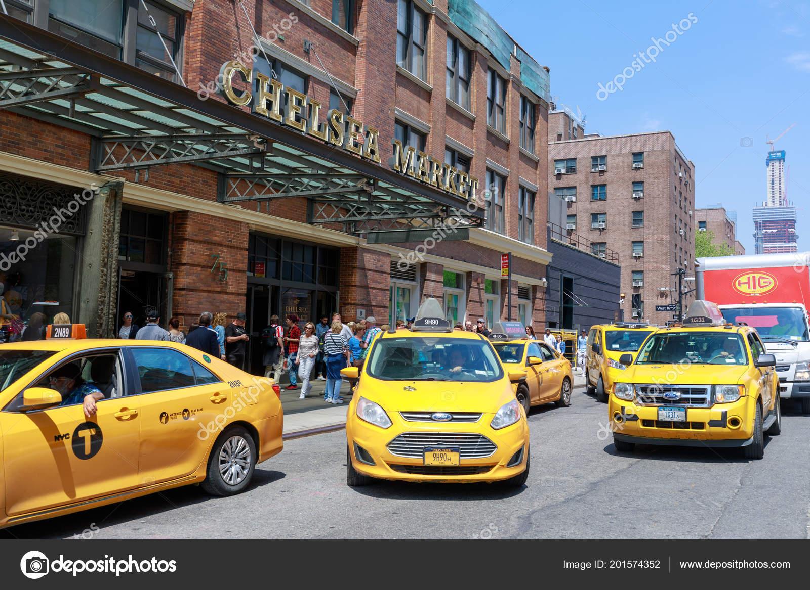 Manhattan New York City May 2018 Nyc Landmark Building Chelsea