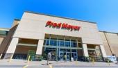 Portland, Oregon - 14. května 2018: Fred Meyer, Inc., je řetězec hypermarketů supermarkety