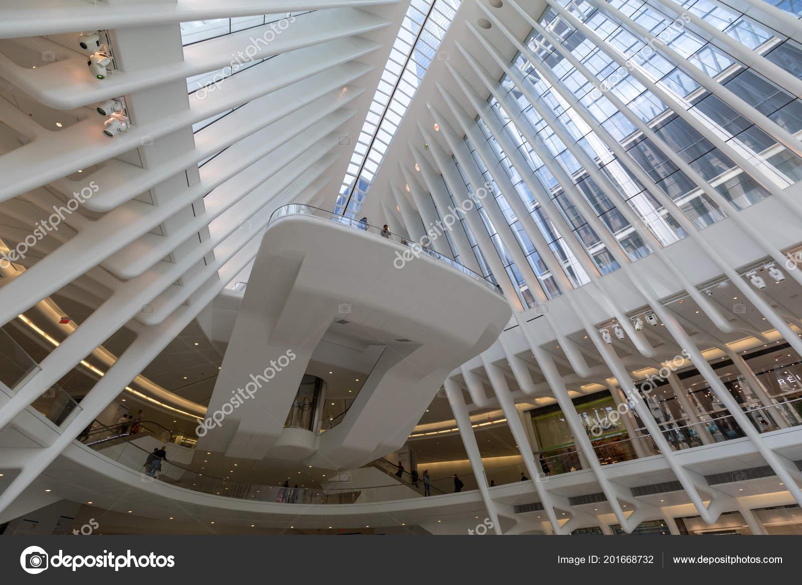 e1fe76aed Manhattan New York City May 2018 Westfield World Trade Center — Stock Photo