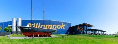 Tillamook, Oregon - Sep 3, 2018 : Tillamook Cheese Factory building, on central Oregon coast.