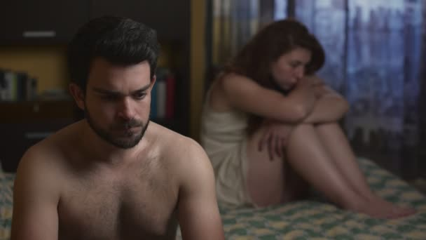 Ideges pár az ágyban, szexuális problémák