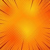 Šablona stránky oranžová kniha komiksů