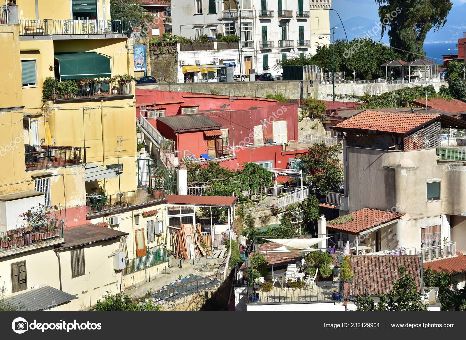 Terraza Típica Casas Con Las Azoteas Planas Sobre Todo Los