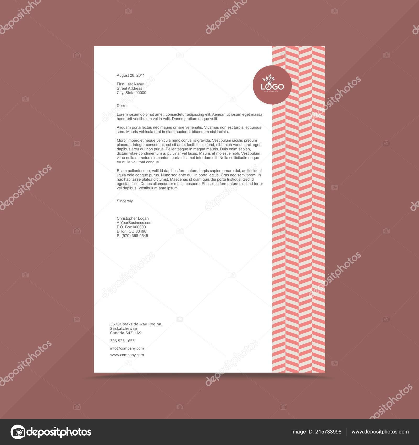 Professional business letterhead design template stock vector professional business letterhead design template stock vector friedricerecipe Choice Image