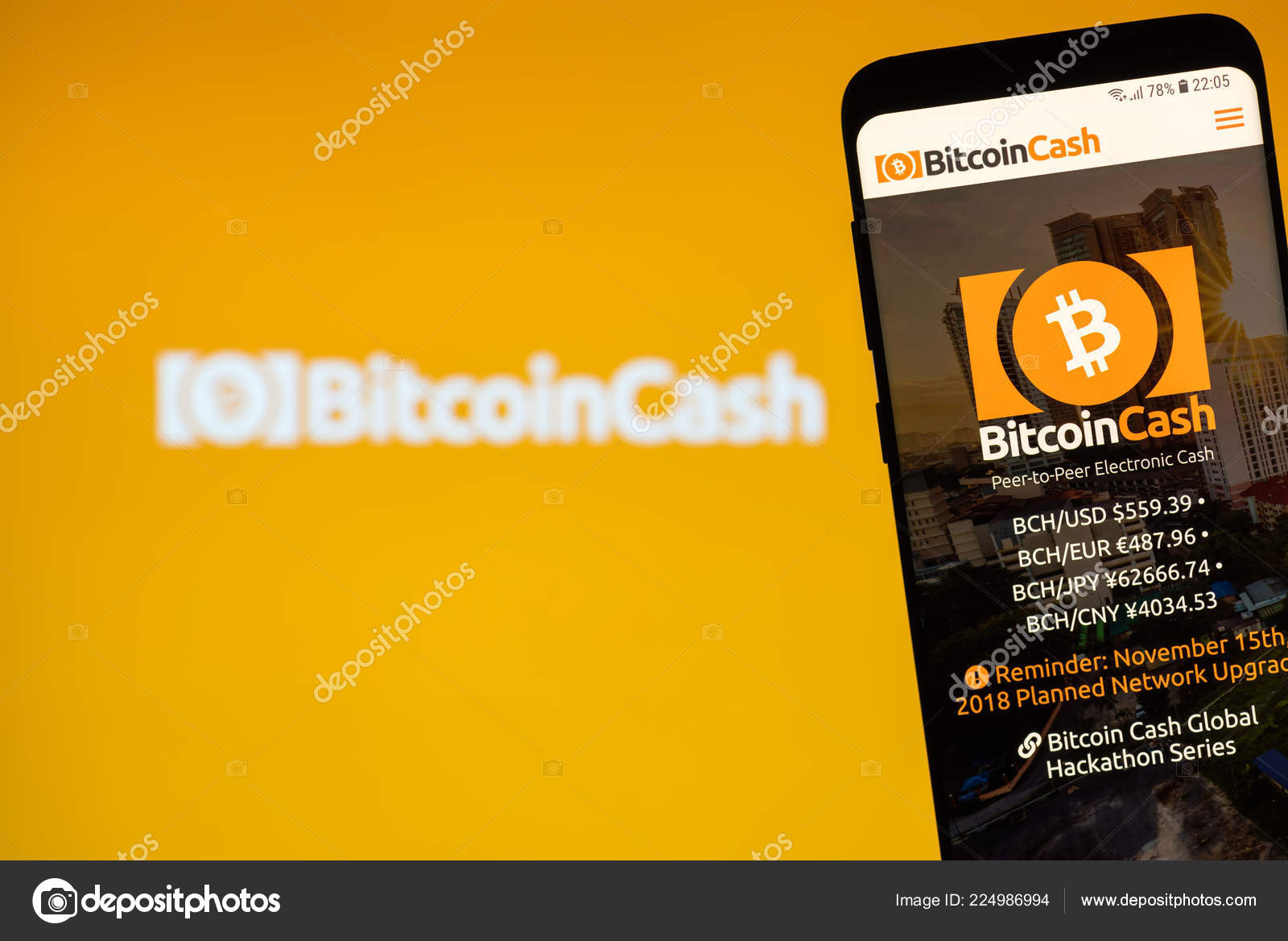 bitcoin cash website