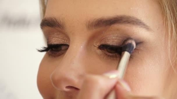maquillage pour les yeux professionnel — vidéo bashkir.o78.gmail