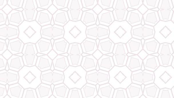 Kaleidoscope pattern background animation