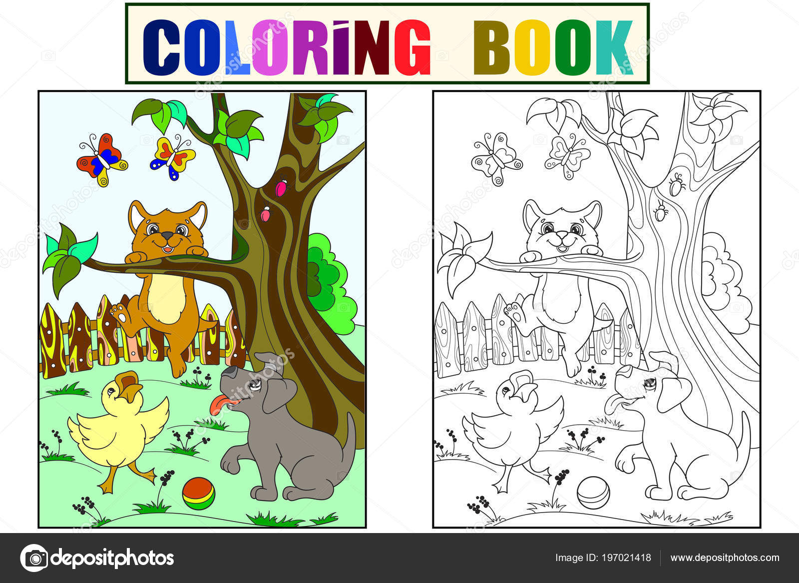 Imagenes Perritos A Color Para Ninos Color Y Para Colorear