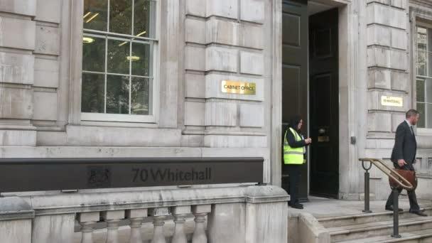 Londýn, Anglie, Velká Británie, září 17, 2015: kabinetu pobočky na whitehall v Londýně, Velká Británie