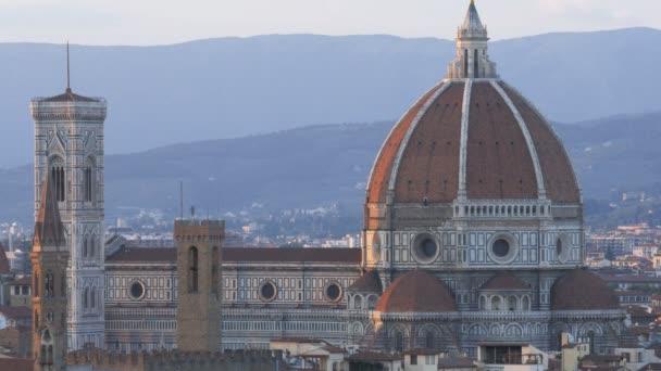 közelről lövés a Duomo, Firenze, a híres katedrális Filippo brunelleschi