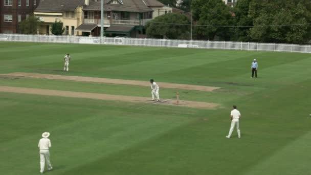 Sydney, Ausztrália - 2016. január 31-ig: a batsman eredmények egy fuss, sydney osztályú krikett mérkőzés a waverly ovális
