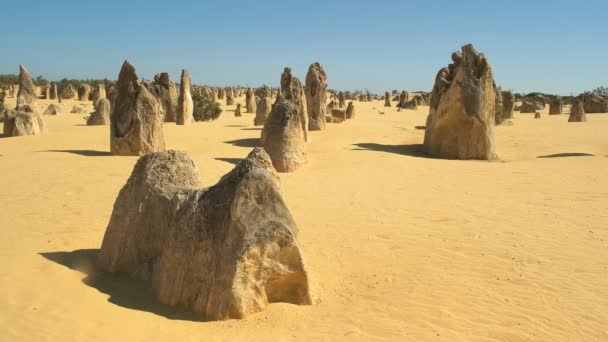 the pinnacles, unusual rock formations near perth in western australia