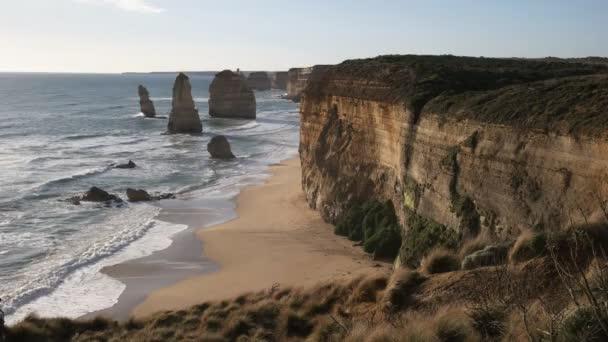 délutáni kilátás a tizenkét apostol magas szikláira