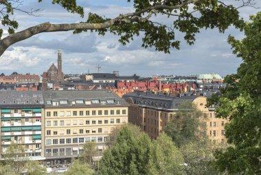 Stockholm view from Observatorielunden