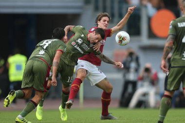SERIE A SOCCER MATCH: AS ROMA VS CAGLIARI, ROME, ITALY - 06 OCTOBER 2019