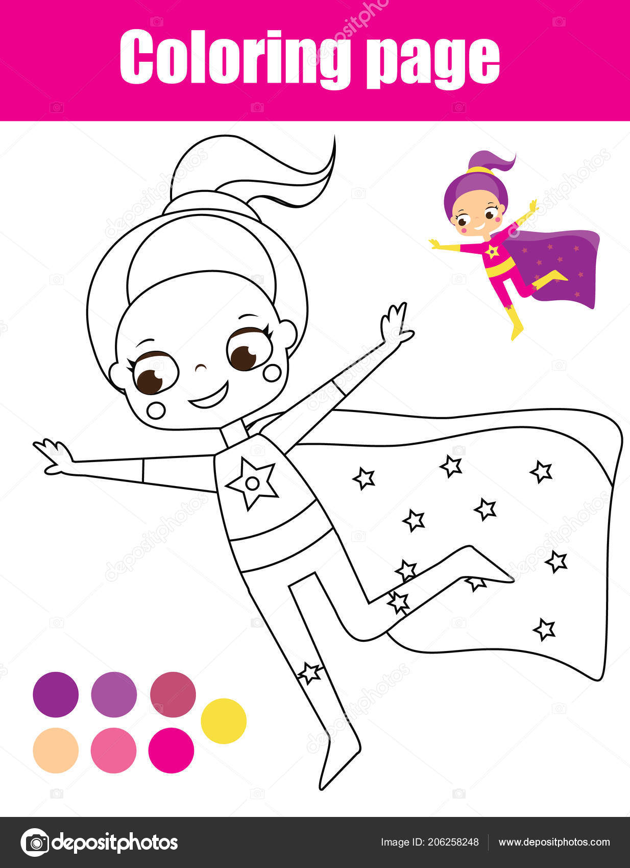 photograph regarding Printable Activities for Toddlers named Superhero woman drawing Coloring Web page Superhero Lady